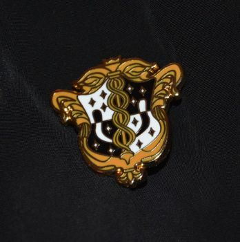 Death Parade Lapel Pin *LE 100* by Reckless-Royalty