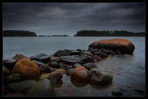 Stone Jetty IV by Solkku