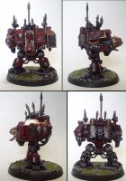 Drakkan Damarr, Helbrute/ Dreadnought of Khorne by Majere613