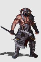 Barbarian - Character design by DiegoVila