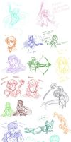 FE7 Sketch Dump by MarvelPoison
