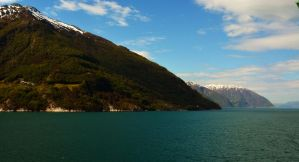 Sailing the fjords to Skjolden 18 by abelamario