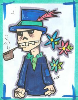 Smokin Bones by K8e-Art