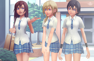KNX School Uniforms DL by KohakuUme6