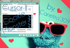 Cursor Cookie Monster by SriitaDeWatt