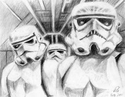 Stormtroopers by philippeL