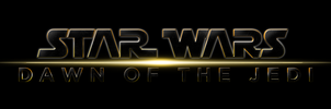 STAR WARS: EPISODE VII - DAWN OF THE JEDI - LOGO by MrSteiners