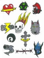 Page of Tattoo Designs by bueatiful-failure