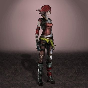 Borderlands 2 Lilith by ArmachamCorp