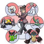 Commission: Pokemon Trainer Grant by SmashToons