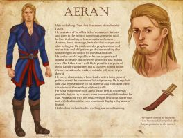 Commission - Aeran's character sheet by Nike-93