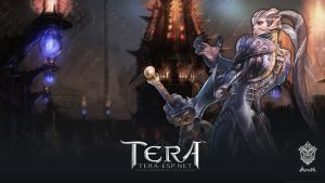 TERA Aman Female Wallpaper by rendermax