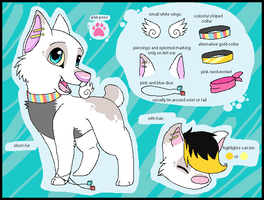OLD Vitz Reference Sheet by SpunkyRacoon