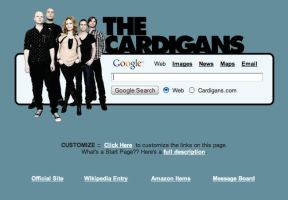 The Cardigans Startpage by AwesomeStart