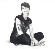 Sara Quin by BlueSun-sketches