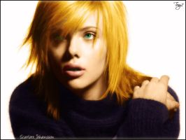 Scarlett Johansson Colorize by Tony7777
