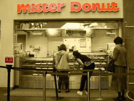 Mister Donut by lilith-reaper