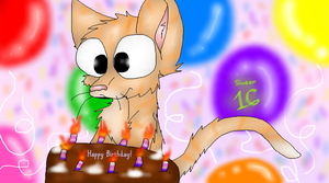 Happy Sweet 16 by PlagueDogs123