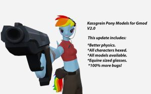 Physics Update (Kassgrein Pony Models V2.0) by Sarcastic-Brony
