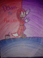 Dawn as Knuckles by RayRamador