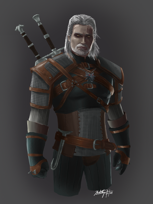 Geralt of Rivia by Silent-Valiance