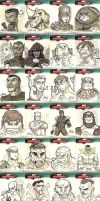 Marvel Sketch Cards-1 by lordmesa