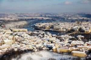 Prague tilt-shift 4 by hombre-cz