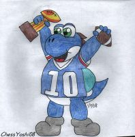 Super Bowl Victory by ChessYoshi