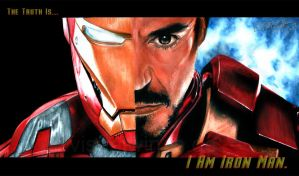 The Truth Is - I Am Iron Man by visualwings