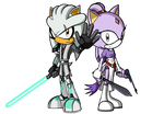 Silver and Blaze: The Gray Jedi and The Princess by AZ-Derped-Unicorn