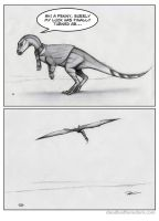 The Adventures of the Unlucky Leaellynasaura by RobtheDoodler