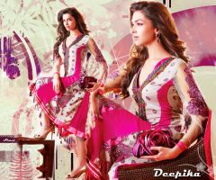 Pink girl Deepika by scarletartista