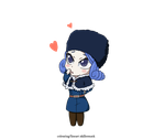 cute chibi juvia by MaskBone