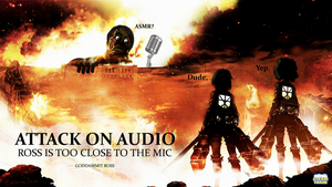ATTACK ON AUDIO - Steam Train Wallpaper by EyebrowScar