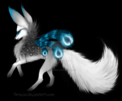 Fox/wolf adoptable auction by TaraviAdopts