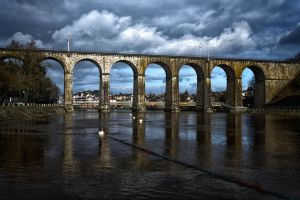 Viaduc de Laval by hubert61