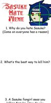 Sasuke Hate Meme by Drawing-24-7