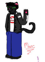 Marc (music vid design #1) by LaLaLaNiceLady
