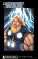 GOD OF THUNDER by redeve