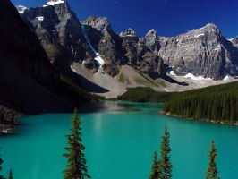 Moraine Lake by xXWings-For-MarieXx