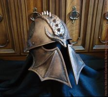 DA:I Inquisitor Helm, Bronze Finish by Nightlyre
