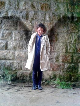 Supernatural Fem!Cas cosplay by bzhgirl29