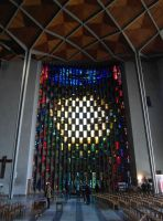 Coventry Cathedral window by PhilsPictures