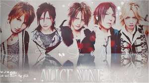 Alice Nine Wallpaper 2 by ParanoiaGod69