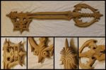 Oblivion Keyblade (unpainted) by Sephiroths-Shadow