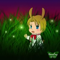 Chibi Bunny!America (for gorse1995) by NanaFay