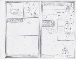 .uncolored first page of Comic. by CheshireSmile