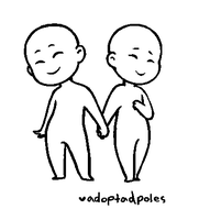 Paint-Friendly Couple Base 1 by Adoptadpoles