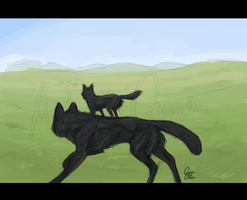 Day 2-Sighted Prey by InstantCoyote