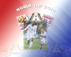 USA World Cup 2010 by cazcastalla